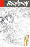 Cover for Aquaman (DC, 2011 series) #5 [Wraparound Sketch Variant Cover]