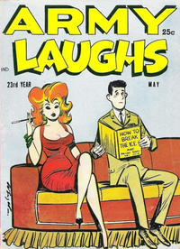 Cover Thumbnail for Army Laughs (Prize, 1951 series) #v6#6