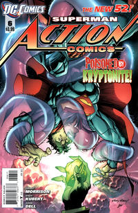 Cover Thumbnail for Action Comics (DC, 2011 series) #6