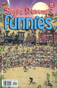 Cover Thumbnail for Sergio Aragonés Funnies (Bongo, 2011 series) #7