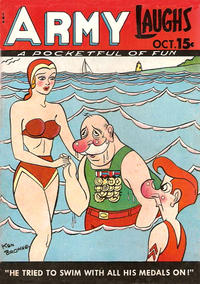 Cover Thumbnail for Army Laughs (Prize, 1941 series) #v8#7
