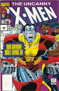 Cover Thumbnail for The Uncanny X-Men (Marvel, 1981 series) #302 [Logo Variant]