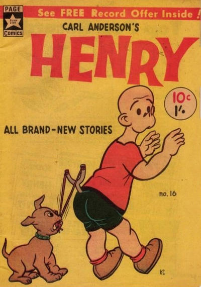 Cover for Carl Anderson's Henry (Yaffa / Page, 1965 ? series) #16