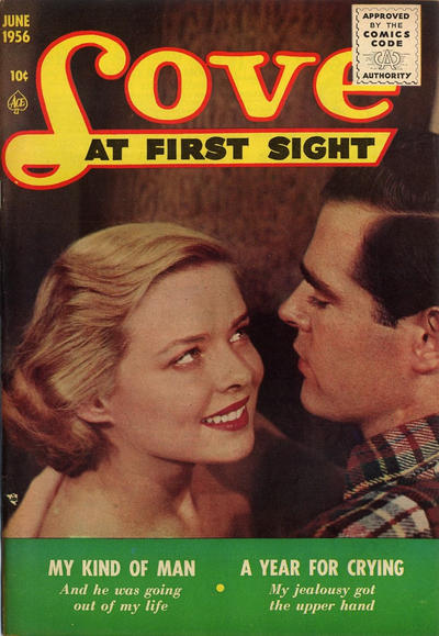 Cover for Love at First Sight (Ace Magazines, 1949 series) #41