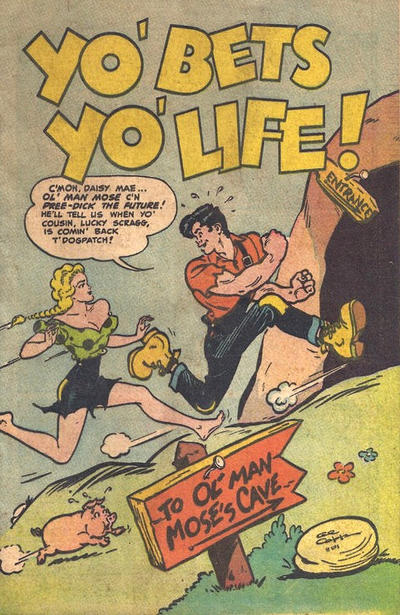 Cover for Yo' Bets Yo' Life! (Toby, 1955 series)