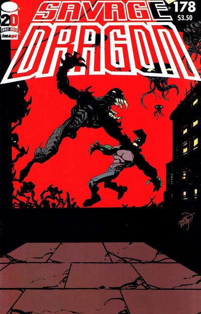 Cover for Savage Dragon (Image, 1993 series) #178