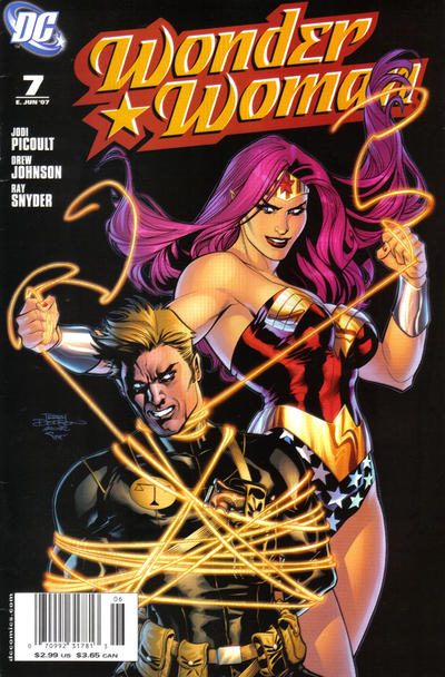 Cover for Wonder Woman (DC, 2006 series) #7 [Newsstand Edition]