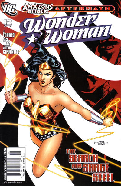 Cover for Wonder Woman (2006 series) #12 [Newsstand Edition]