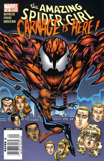Cover for Amazing Spider-Girl (2006 series) #10