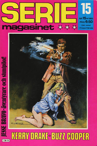 Cover for Seriemagasinet (Semic, 1970 series) #15/1983
