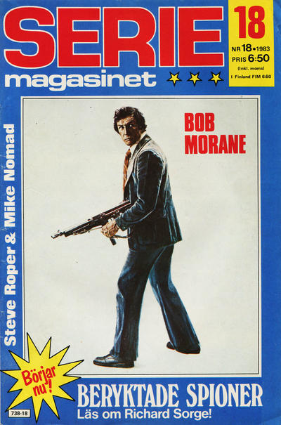Cover for Seriemagasinet (1970 series) #18/1983