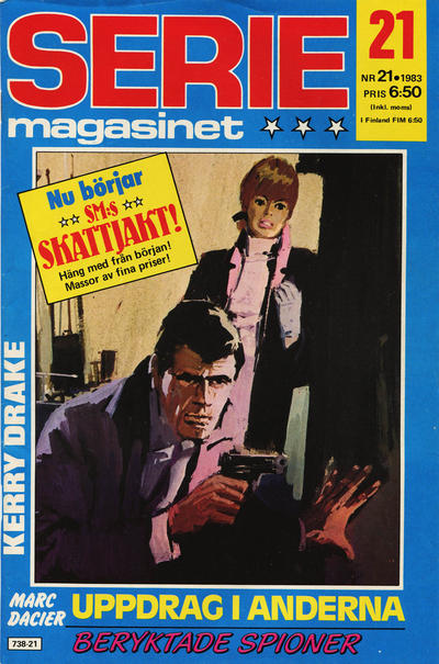 Cover for Seriemagasinet (Semic, 1970 series) #21/1983