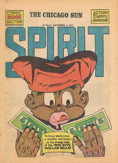 Cover for The Spirit (Register and Tribune Syndicate, 1940 series) #12/9/1945