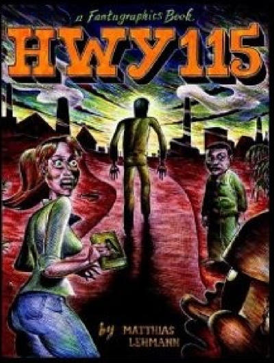 Cover for Hwy 115 (Fantagraphics, 2006 series)