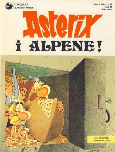 Cover for Asterix (1969 series) #16 - Asterix i alpene! [1. opplag]