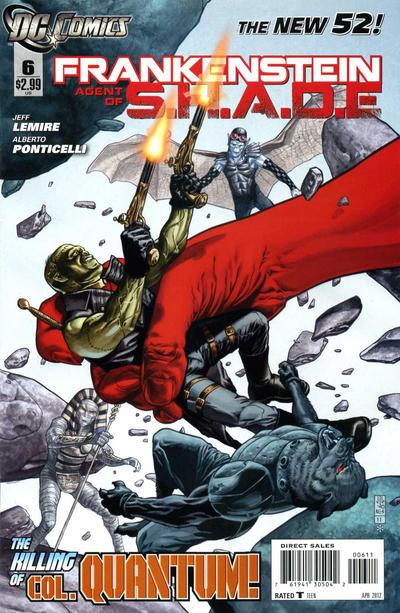 Cover for Frankenstein, Agent of S.H.A.D.E. (DC, 2011 series) #6