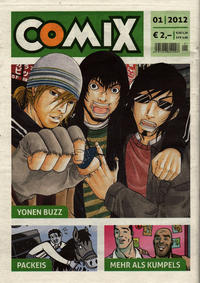 Cover Thumbnail for Comix (JNK, 2010 series) #1/2012