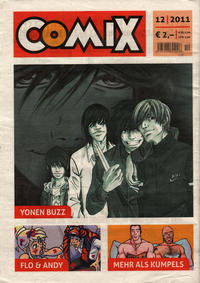 Cover Thumbnail for Comix (JNK, 2010 series) #12/2011