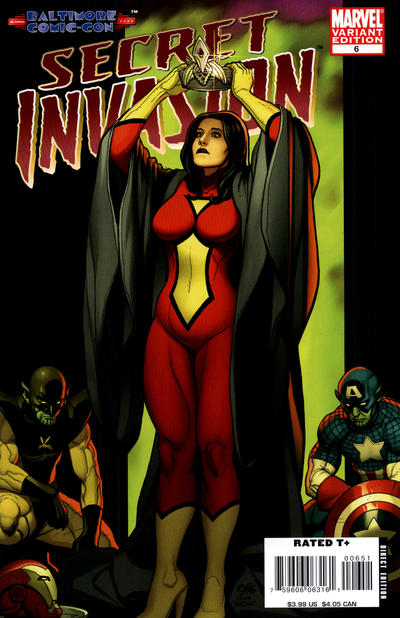 Cover for Secret Invasion (Marvel, 2008 series) #6 [Frank Cho Limited Variant]