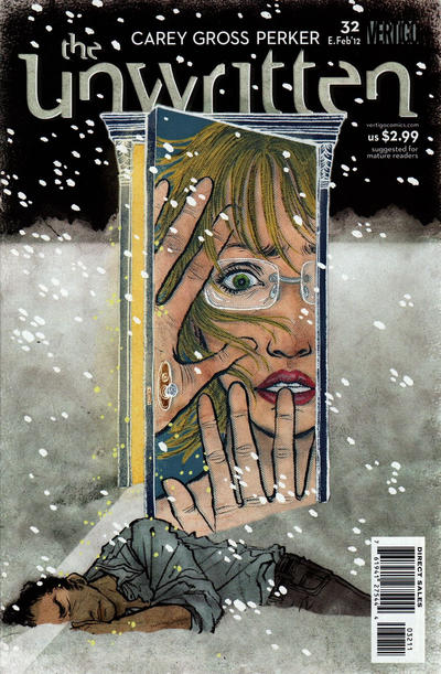 Cover for The Unwritten (2009 series) #32