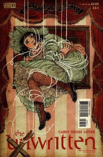 Cover for The Unwritten (DC, 2009 series) #33.5