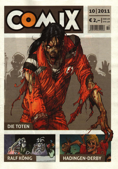 Cover for Comix (JNK, 2010 series) #10/2011