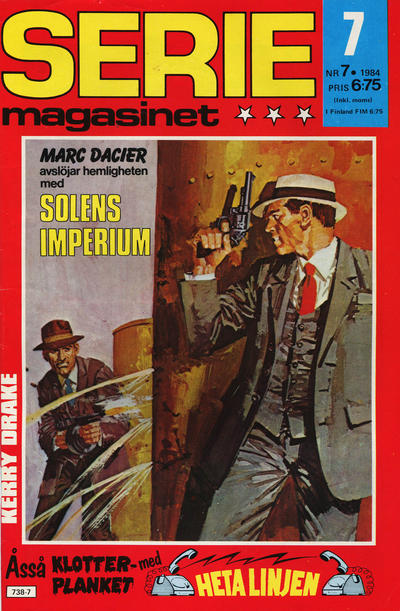 Cover for Seriemagasinet (Semic, 1970 series) #7/1984