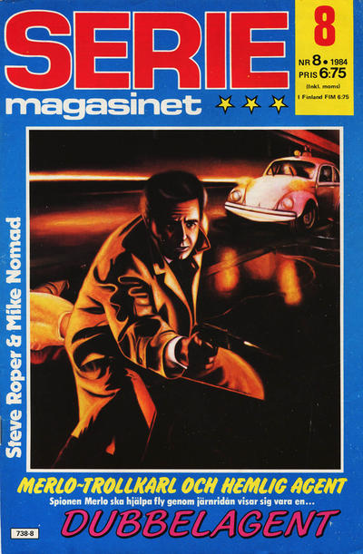 Cover for Seriemagasinet (Semic, 1970 series) #8/1984