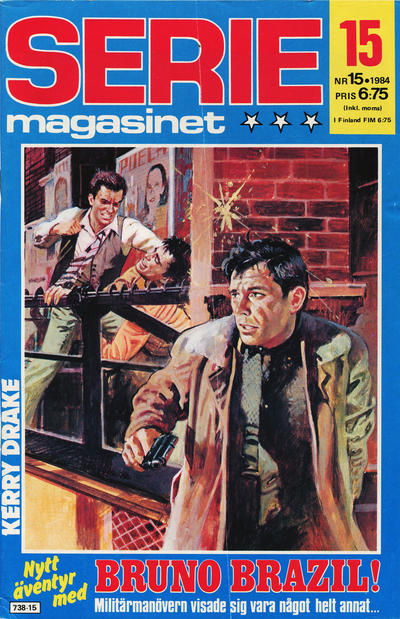 Cover for Seriemagasinet (Semic, 1970 series) #15/1984