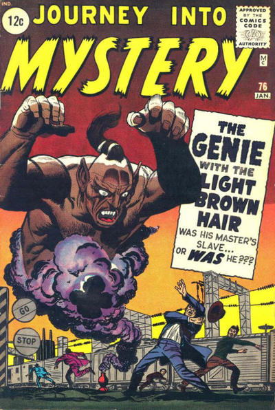 Cover for Journey into Mystery (Marvel, 1952 series) #76 [Black Circle Price Field]