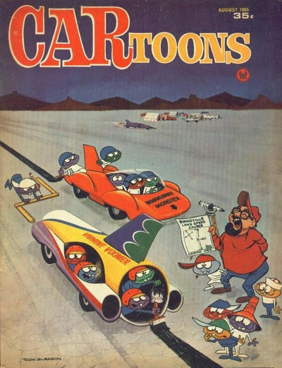 Cover for CARtoons (Petersen Publishing, 1961 series) #24