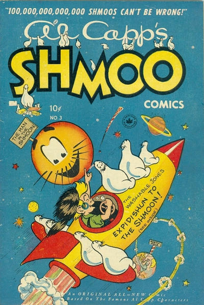 Cover for Al Capp's Shmoo Comics (Superior Publishers Limited, 1949 series) #3