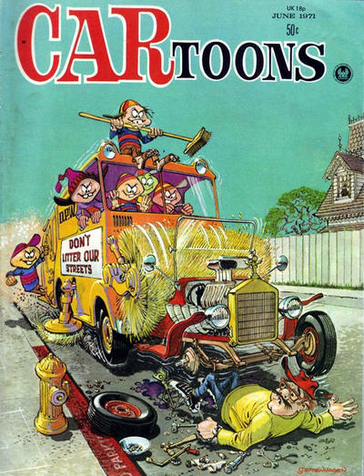 Cover for CARtoons (Petersen Publishing, 1961 series) #59