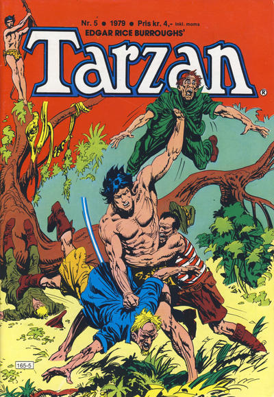 Cover for Tarzan (Atlantic Forlag, 1977 series) #5/1979