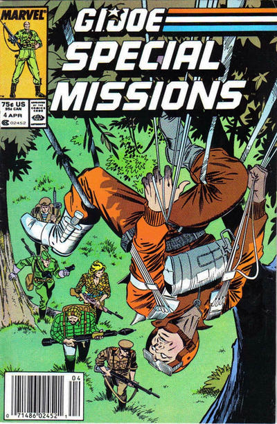 Cover for G.I. Joe Special Missions (1986 series) #4 [Direct Edition]
