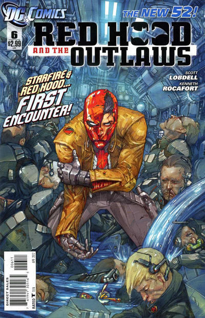 Cover for Red Hood and the Outlaws (DC, 2011 series) #6