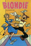 Cover for Blondie (Åhlén & Åkerlunds, 1956 series) #9/1958