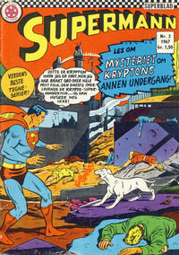 Cover Thumbnail for Supermann (Se-Bladene - Stabenfeldt, 1966 series) #3/1967