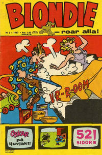 Cover for Blondie (1963 series) #2/1967