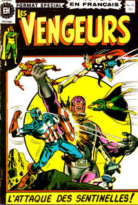 Cover Thumbnail for Les Vengeurs (Editions Héritage, 1974 series) #31