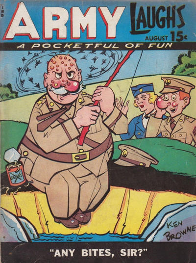 Cover for Army Laughs (1941 series) #v5#5