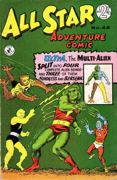 Cover for All Star Adventure Comic (K. G. Murray, 1959 series) #42