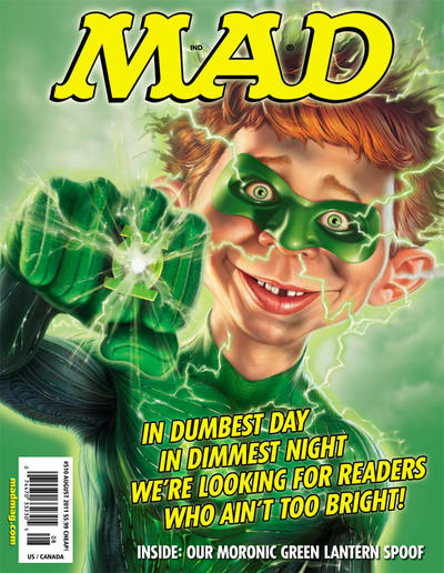 Cover for MAD (EC, 1952 series) #510