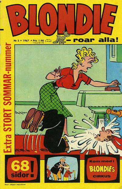 Cover for Blondie (Semic, 1963 series) #5/1967