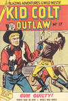 Cover for Kid Colt Outlaw (Horwitz, 1952 ? series) #17