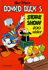 Cover for Donald Duck's Show (Hjemmet, 1957 series) #[1] - Store show [1957]