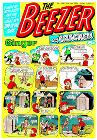 Cover Thumbnail for The Beezer and Cracker (D.C. Thomson, 1976 series) #1088
