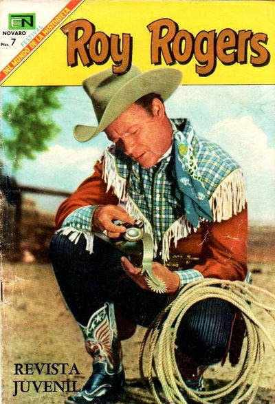 Cover for Roy Rogers (Editorial Novaro, 1952 series) #200