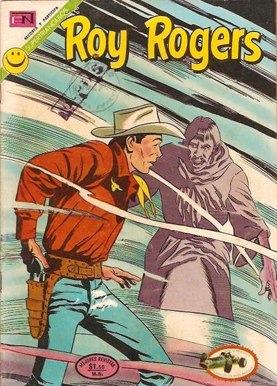Cover for Roy Rogers (Editorial Novaro, 1952 series) #277