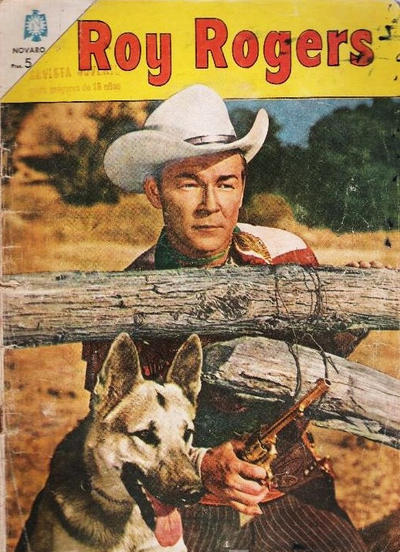 Cover for Roy Rogers (Editorial Novaro, 1952 series) #161
